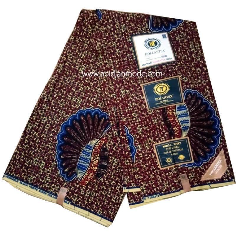 Pagne Wax Hollantex Togo 100% coton