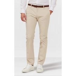Pantalon chino blanc cassé